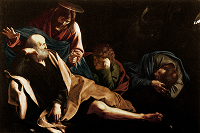 Christ on the Mount of Olives Caravaggio